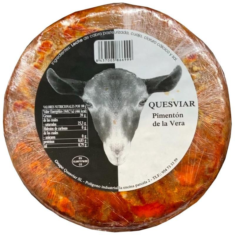 QUESOS Queso de Cabra al Pimentón 1kg  16,77€