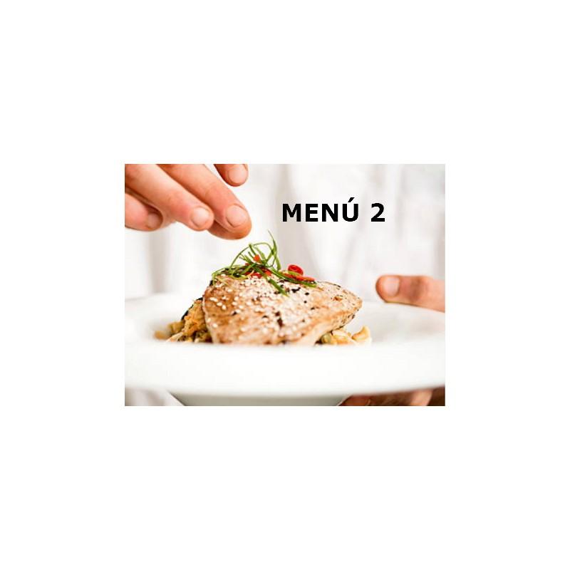 Tu menú semanal MENÚ 5 CENAS Los Artesanos de Arahal 20,00€