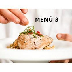 Tu menú semanal MENÚ 5 COMIDAS Y 5 CENAS Los Artesanos de Arahal 43,00€