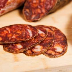 JAMONES Y EMBUTIDOS Chorizo Ibérico de Bellota 100% B de Jota 4,51€
