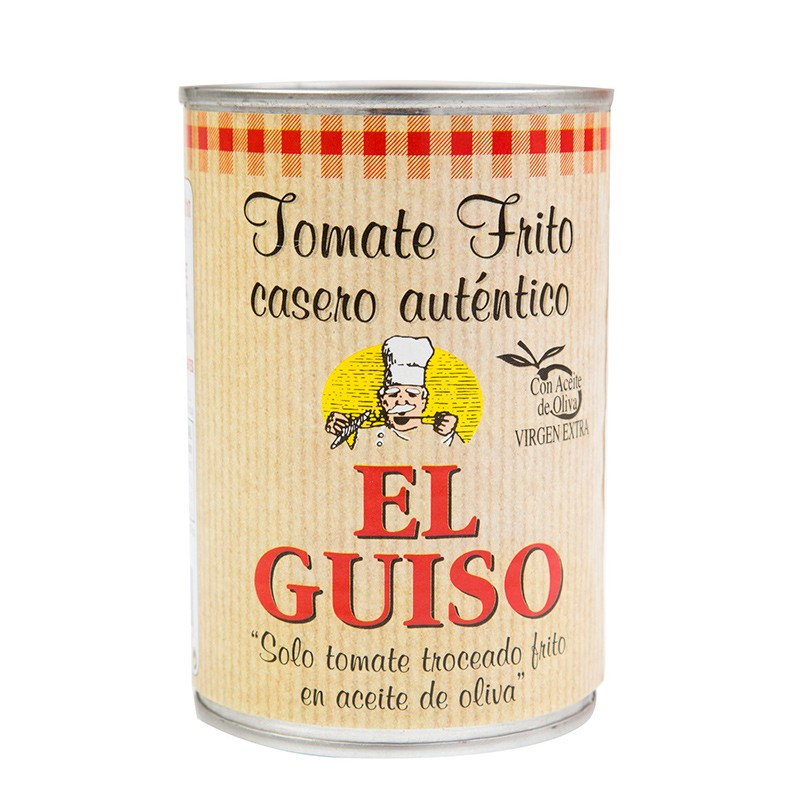 Conservas Vegetales Sofrito El Guiso con Aceite de Oliva V.E.  1,86€