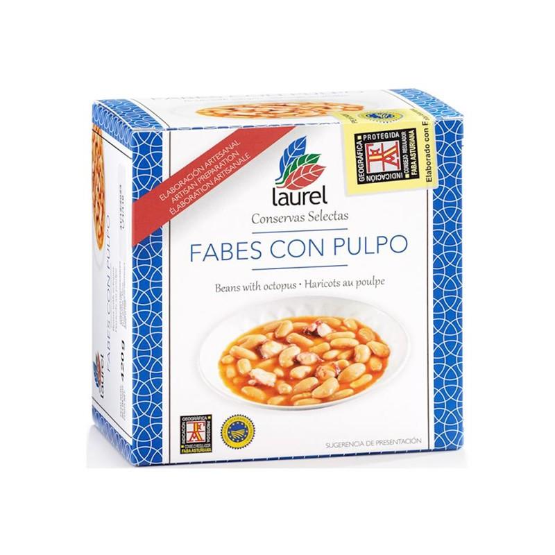 Conservas Vegetales Fabes con Pulpo  6,73€