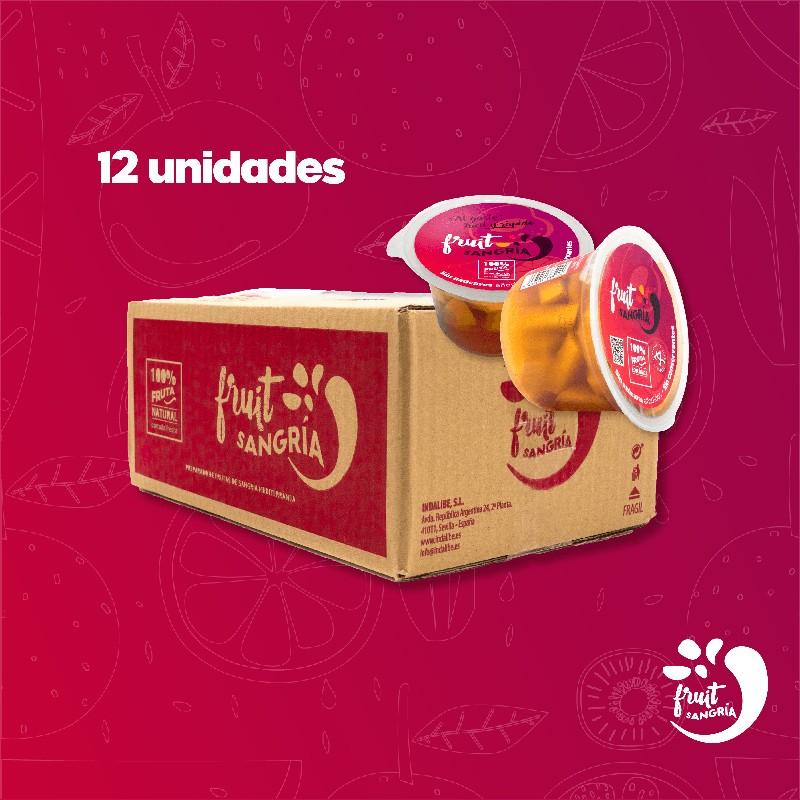 FRUITSANGRIA Preparado de Sangría Caja de doce Fruit Sangria 43,76€