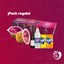 FRUITSANGRIA Preparado de Sangría Pack completo Fruit Sangria 14,73€