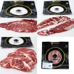 Lote de carnes Ibéricas Fileteadas