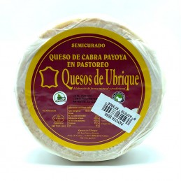 """QUESOS Queso de Ubrique """"de Cabra Payoya"""" Merkared 33,50€"""